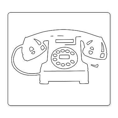Sizzix® Bigz Die, Vintage Telephone