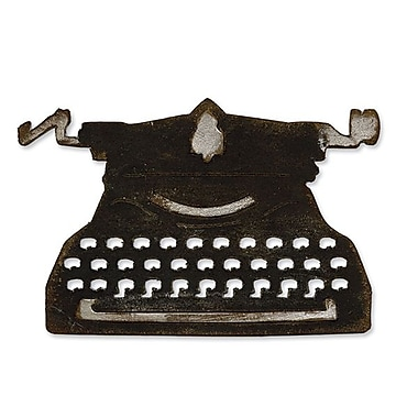 Sizzix® Bigz Die, Vintage Typewriter