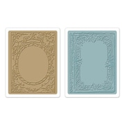 Sizzix® Texture Fades Embossing Folder, Book Covers Set