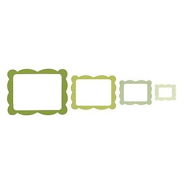 Sizzix® Framelits Die Set, Frame, Scallop Rectangle