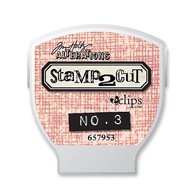 Sizzix® eclips Cartridge, Alterations Stamp2Cut No. 3
