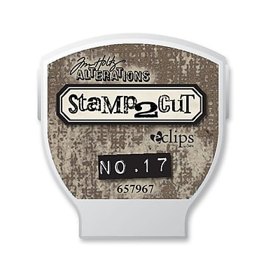 Sizzix® eclips Cartridge, Alterations Stamp2Cut No. 17