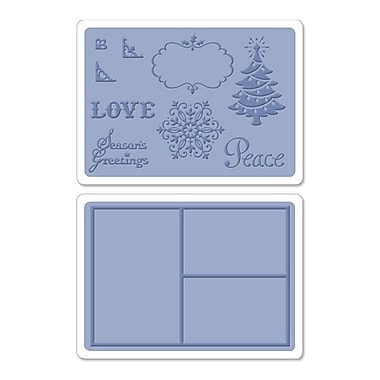 Sizzix® Framelits Die Set With Textured Impressions, Collage Frames Set