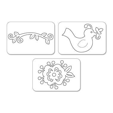 Sizzix® Sizzlits Die Set, Bird & Flower Vine Set