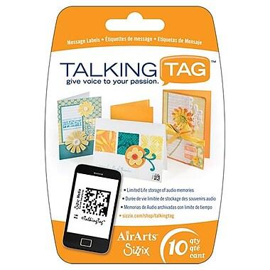 Sizzix® Media TalkingTag Audio Message Labels