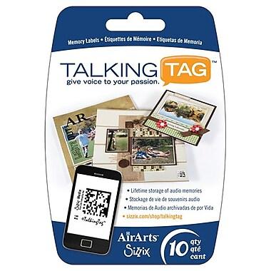 Sizzix® Media TalkingTag Audio Memory Labels