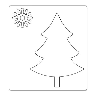 Sizzix® Bigz Die With Bonus Sizzlits, Tree and Snowflakes
