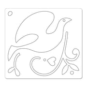 Sizzix® Bigz Die With Bonus Embosslits, Dove and Holly
