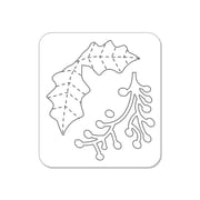 Sizzix® Embossing Folder With Bonus Sizzlits Die, Alpine Pattern and Flowers