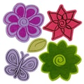 Sizzix® Framelits Die Set With Stamps, Flowers #4