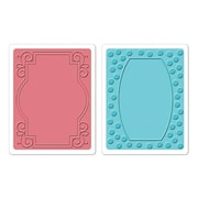 Sizzix® Textured Impressions Embossing Folder, Ornate Frames Set #2