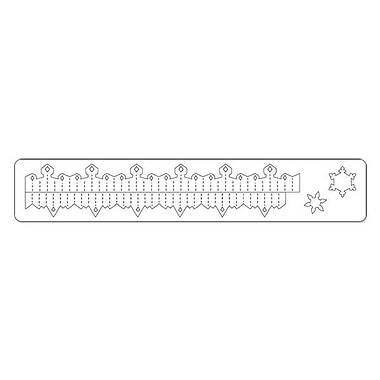 Sizzix® Sizzlits Decorative Strip Die, Mini Snowflake Rosette