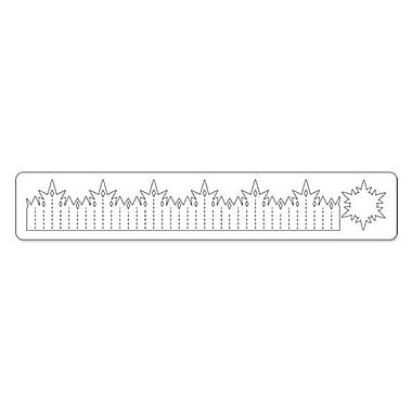 Sizzix® Sizzlits Decorative Strip Die, Snowflake Rosette