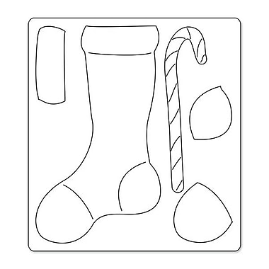 Sizzix® Bigz Die, Stocking Stuffer