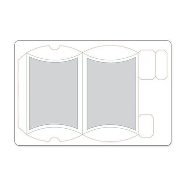 Sizzix® Movers & Shapers L Die, Pillow Box W/Labels