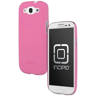 Incipio® Feather Ultralight Hard Shell Case For Samsung GALAXY S III, Neon Pink