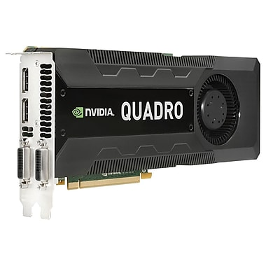 HP® Quadro K5000 4GB High-Performance Graphic Card