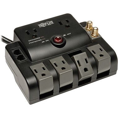 Tripp Lite Protect It!® Series 6-Outlet 1440 Joule Surge Suppressor With 6' Cord
