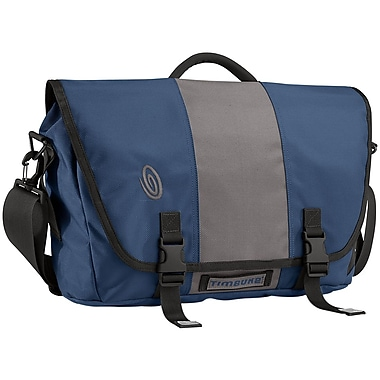 Timbuk2® 15in. Laptop TSA-Friendly Messenger Bag, Gunmetal/Dusk Blue