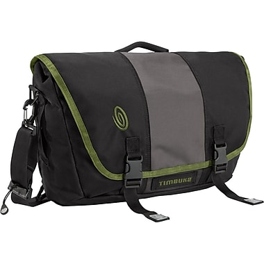Timbuk2® 15in. Power Commute Laptop Messenger Bag, Black/Green