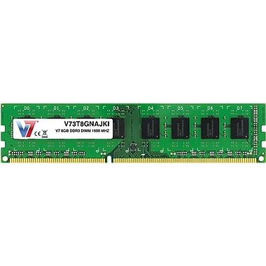 V7 V73T8GNAJKI 8GB (240-Pin DIMM) PC3-12800 Desktop Memory