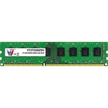 V7® V73T2GNZBII 2GB (204-Pin DIMM) PC3-10600 Desktop Memory