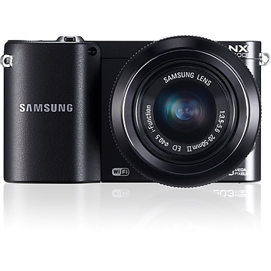 Samsung SMART Camera With 3in. LCD, 20.3 Megapixel, Black