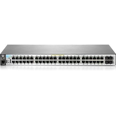 HP® 2530 Series 48 Ports Managed PoE Fast/Gigabit Ethernet Switch
