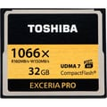 Toshiba THNCF032GSGI 32GB Exceria PRO 1066x CompactFlash High Speed Memory Card