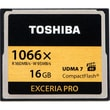 Toshiba THNCF016GSGI 16GB Exceria PRO 1066x CompactFlash High Speed Memory Card