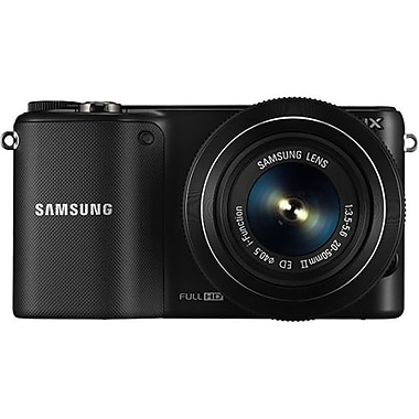 Samsung SMART Camera With 3.7in. LCD, 20.3 Megapixel, Black