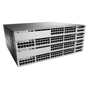 Cisco® Catalyst 3850 Data Managed Layer 3 Gigabit Ethernet Switch, 48-Ports (WS-C3850-48T-S)