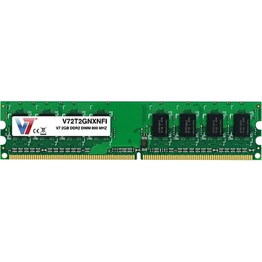 V7® V72T2GNXNFI 2GB (204-Pin DIMM) PC2-6400 Desktop Memory
