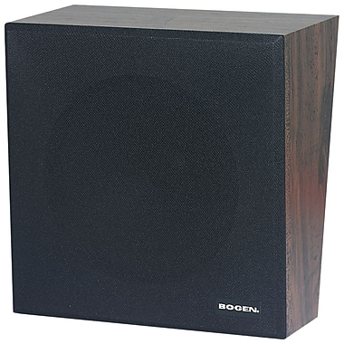 Bogen® ASWB1 Black/Walnut Amplified Speaker