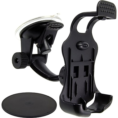 Arkon® Travelmount® Mini Windshield/Dash Mount For BlackBerry Tour, Curve, Bold 9650 and 9700, Black