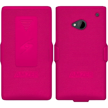 Amzer® Shellster™ Case For HTC One, Hot Pink