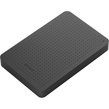Buffalo MiniStation™ 1TB Portable USB 3.0 Storage and Backup Hard Drive (Black)
