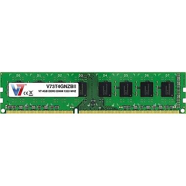 V7 V73T4GNZBII 4GB (204-Pin DIMM) PC3-10600 Desktop Memory
