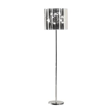 Zuo® 25 W Quasar Floor Lamp, Chrome
