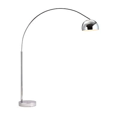 Zuo® 100 W Galactic Floor Lamp, Chrome