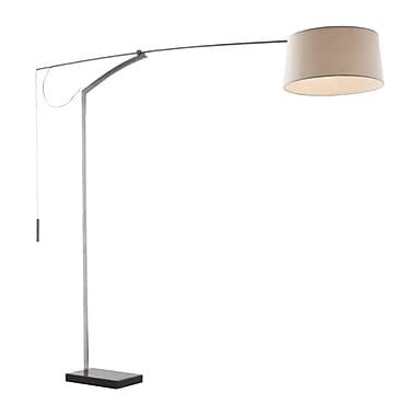 Zuo® 100 W Blazar Floor Lamp, Beige