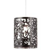 Zuo® 50033 Casimir 100 W Incandescent Ceiling Lamp, Black