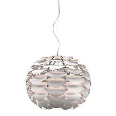 Zuo® 50035 Tachyon 100 W Incandescent Ceiling Lamp, Aluminum