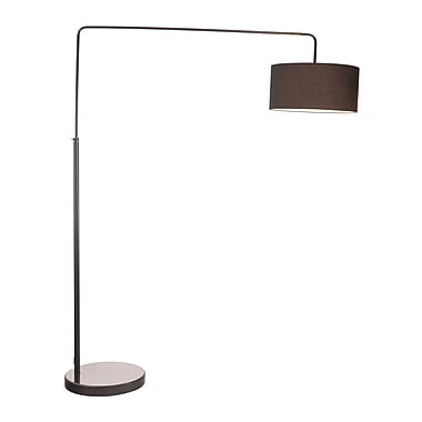 Zuo® 100 W Vapor Floor Lamp, Black