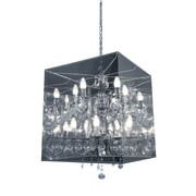 Zuo® 50096 Centurion 60 W Incandescent Ceiling Lamp, Translucent
