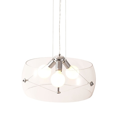 Zuo® 50106 Asteroids 60 W Incandescent Ceiling Lamp, Clear