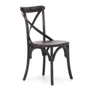 Zuo® Elm Wood Union Square Chairs, Black