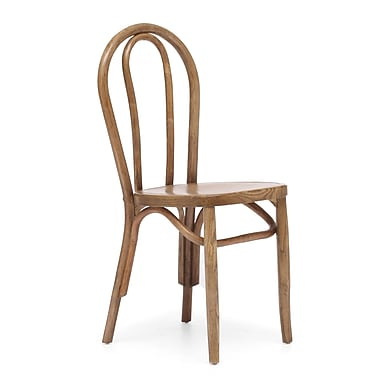 Zuo® Elm Wood Nob Hill Chairs, Natural