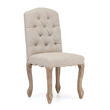 Zuo® Polyester Linen Noe Valley Chairs
