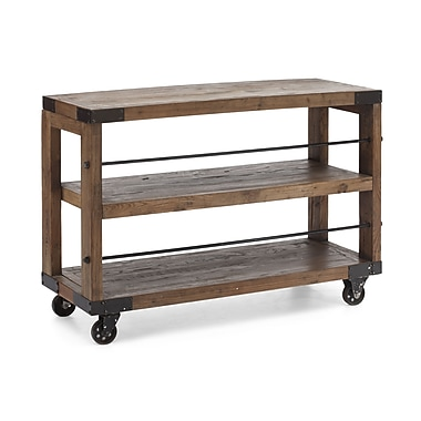 Zuo® Fort Mason Elm Wood Shelf, Distressed Natural